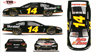AutoZone/Trey Hutchens Racing Set to Reunite in New Hampshire, Duralast and E3 Spark Plugs to Join