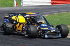 Hutchens Strong Run at Bowman Gray Derailed After Mid-Race Incident